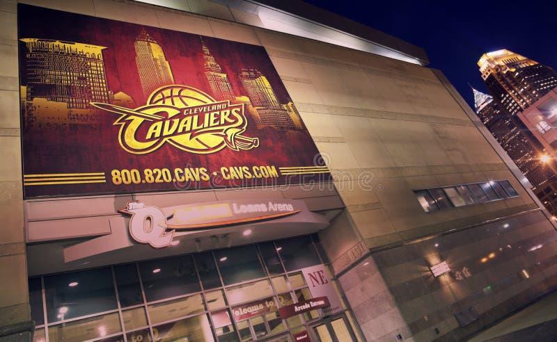 Insegna di Cleveland Cavaliers immagine stock libera da diritti