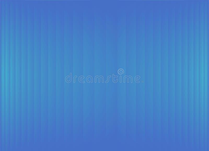 Insegna di pendenza dell'estratto o fondo a strisce al neon celeste blu-chiaro del biglietto da visita illustrazione vettoriale