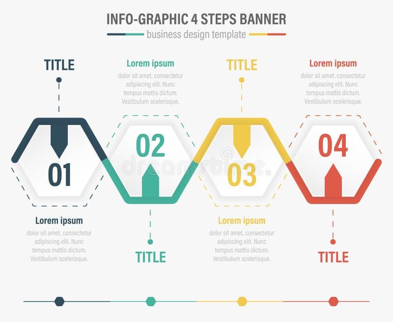 insegna di punti del Informazione-grafico quattro royalty illustrazione gratis