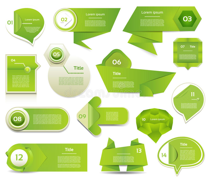 Insegna moderna di opzioni di infographics. Illustrazione di vettore. può essere usato per la disposizione di flusso di lavoro, il illustrazione di stock