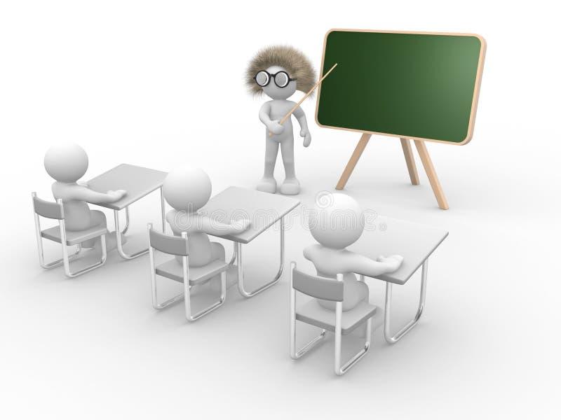 Insegnante illustrazione vettoriale