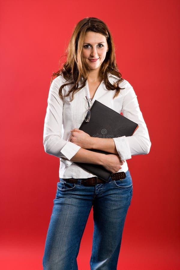 Insegnante femminile piacevole immagine stock libera da diritti