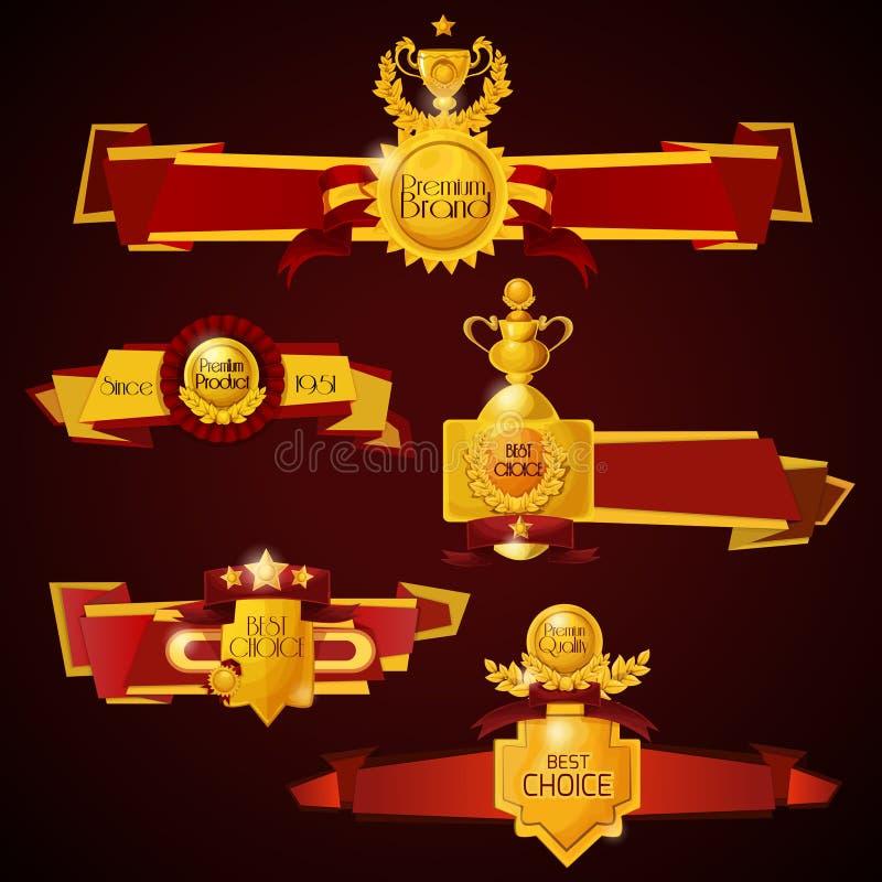 Insegne del premio messe royalty illustrazione gratis
