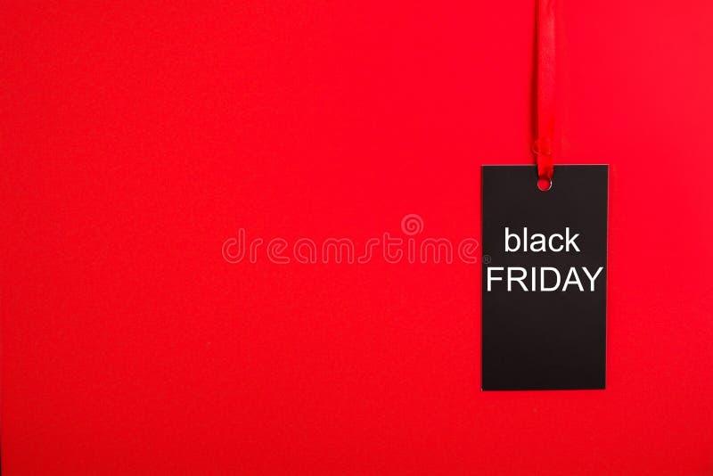 Insegne di promo di Minimalistic per l'evento nero di acquisto di vendita di venerdì fotografie stock libere da diritti