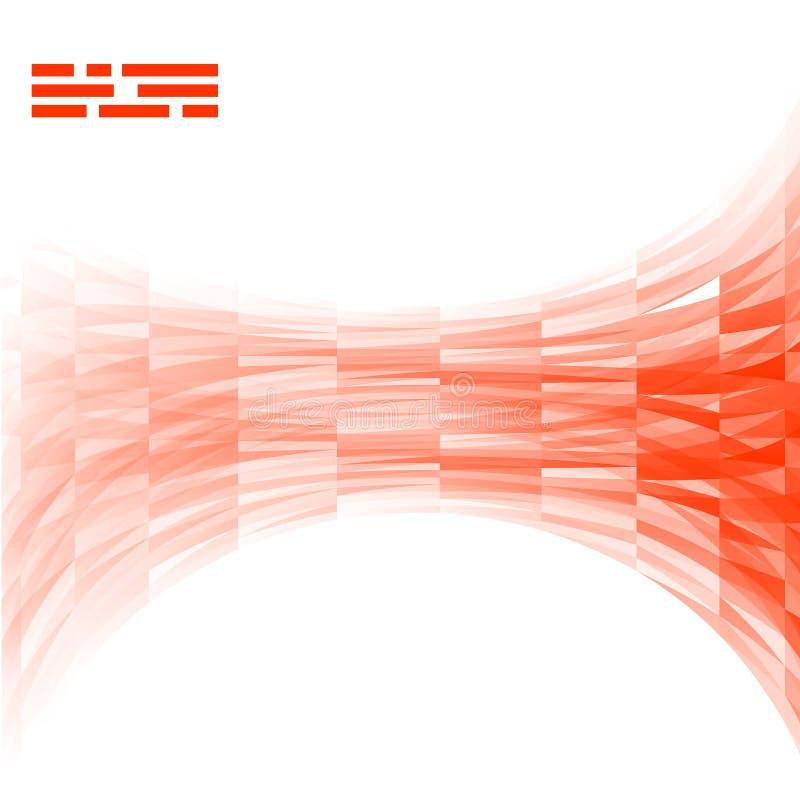 Insegne e quadrati di vettore Insieme di colore illustrazione vettoriale