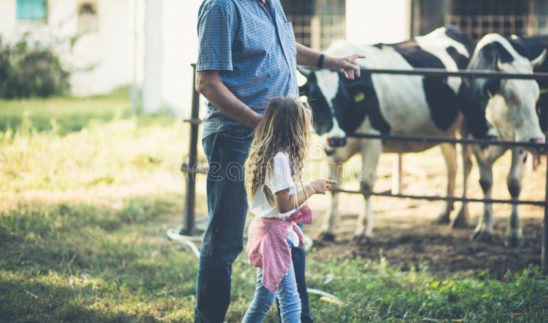 Insegni ai vostri bambini a amare gli animali immagine stock