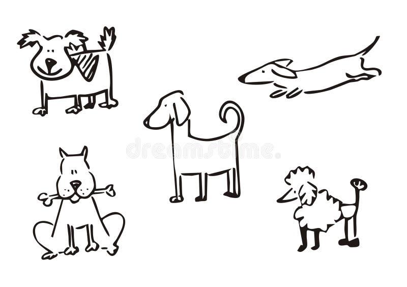 Insegue il clipart semplice illustrazione di stock