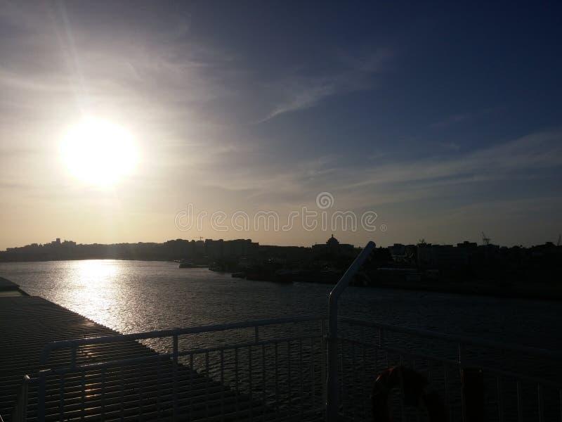 Inseguimento del Sun fotografia stock