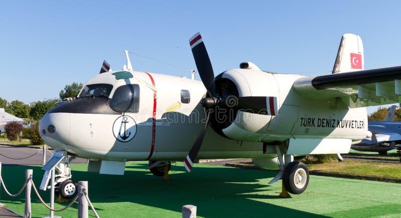 Inseguitore di Grumman S-2E fotografie stock