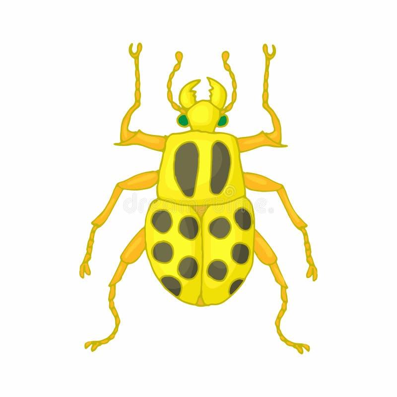 Insekt pluskwy ikona, kreskówka styl ilustracja wektor