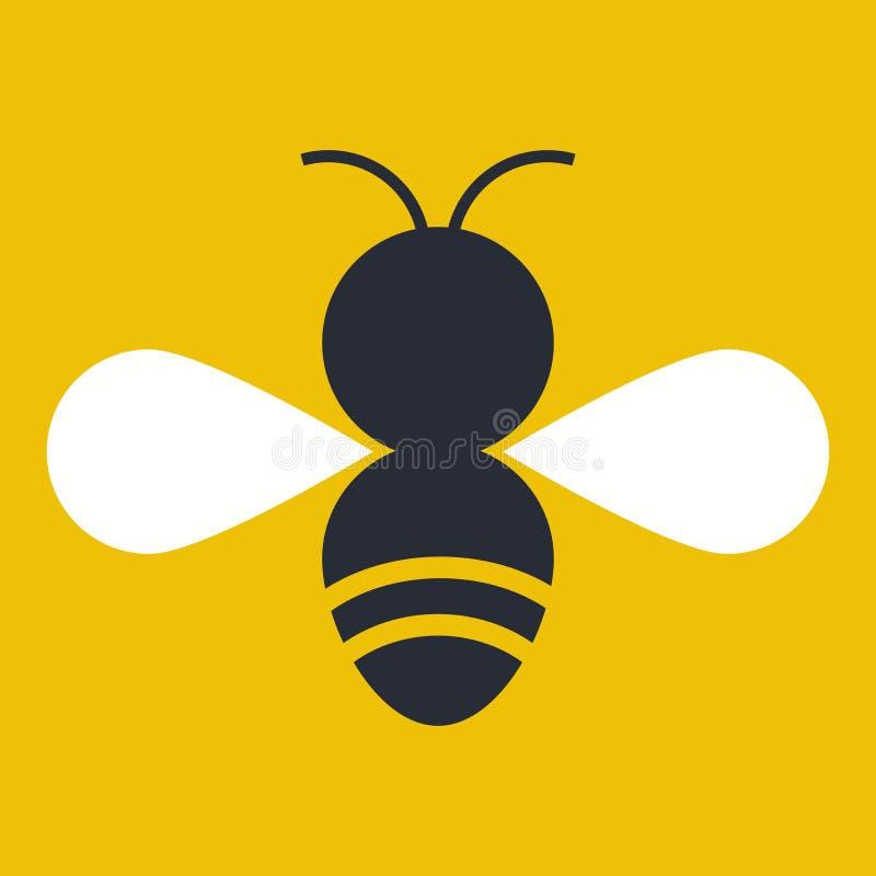 Insekt sylwetka royalty ilustracja