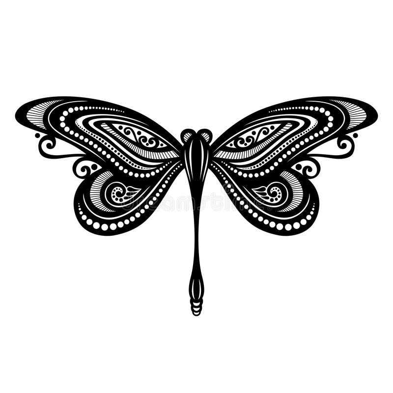 Insektenlibelle vektor abbildung