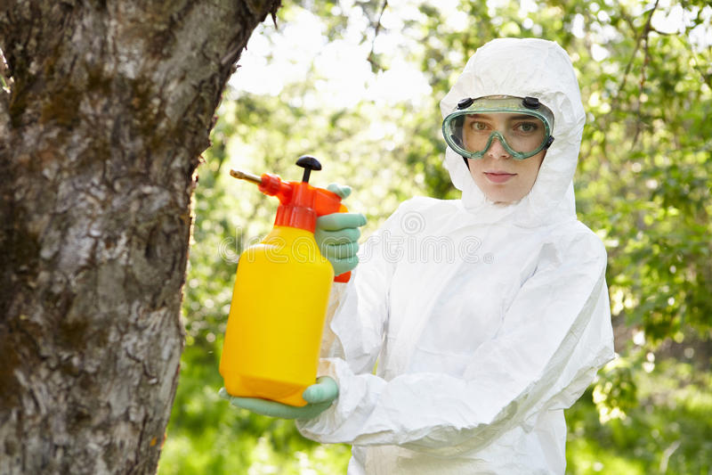 Insektenvertilgungsmittel. lizenzfreie stockbilder