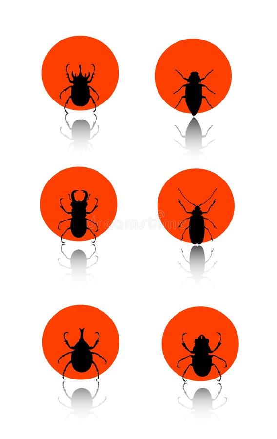 Insektikonenset vektor abbildung