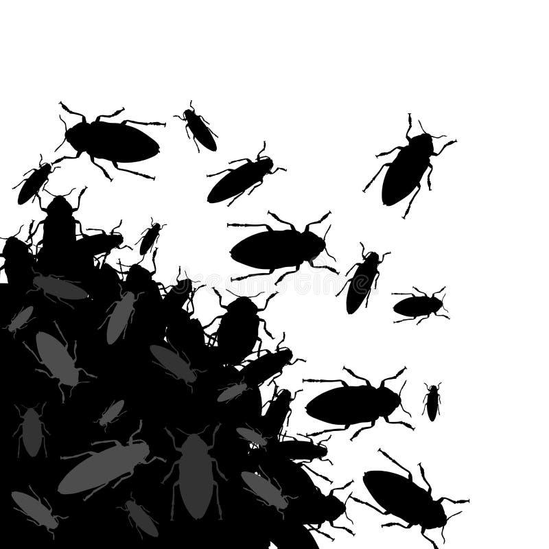 Insekty ilustracja wektor