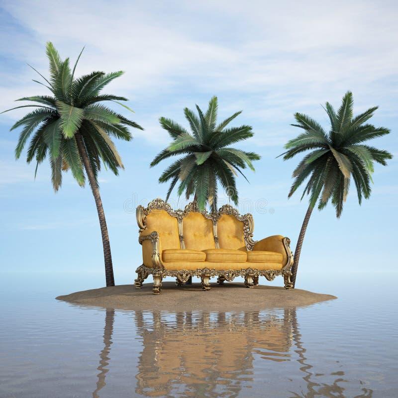 Insel stock abbildung