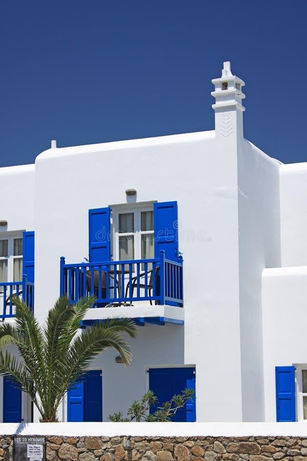 Insel-Gebäude-Detail stockfotos