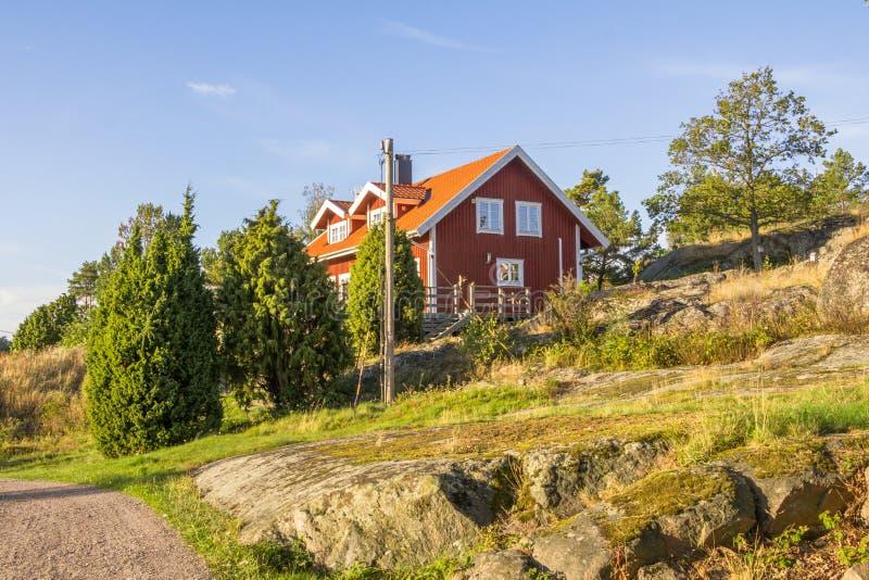 Insel Harstena in Schweden stockfotografie