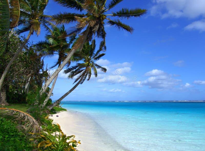 Insel-Lagune lizenzfreie stockbilder