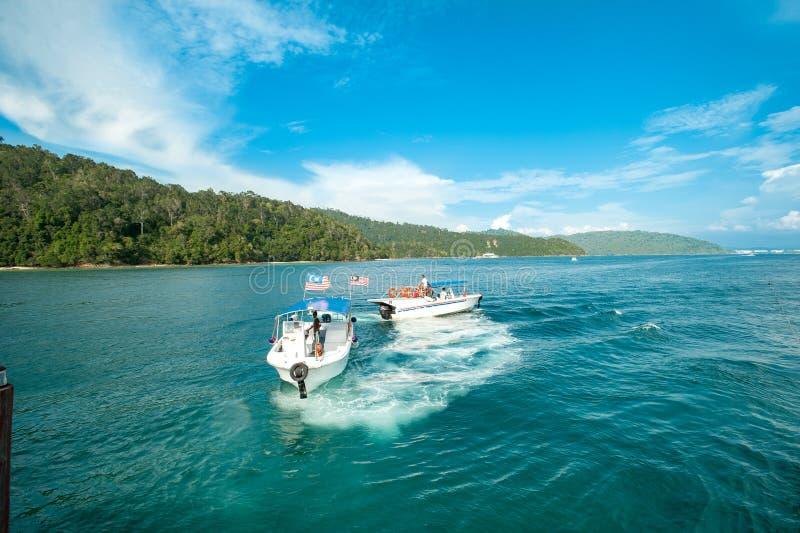 Insel Malyasia Sabah stockbilder