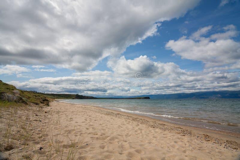 Insel Olkhon am Baikalsee stockbilder