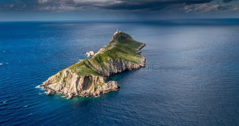 Insel Palagruza lizenzfreies stockbild