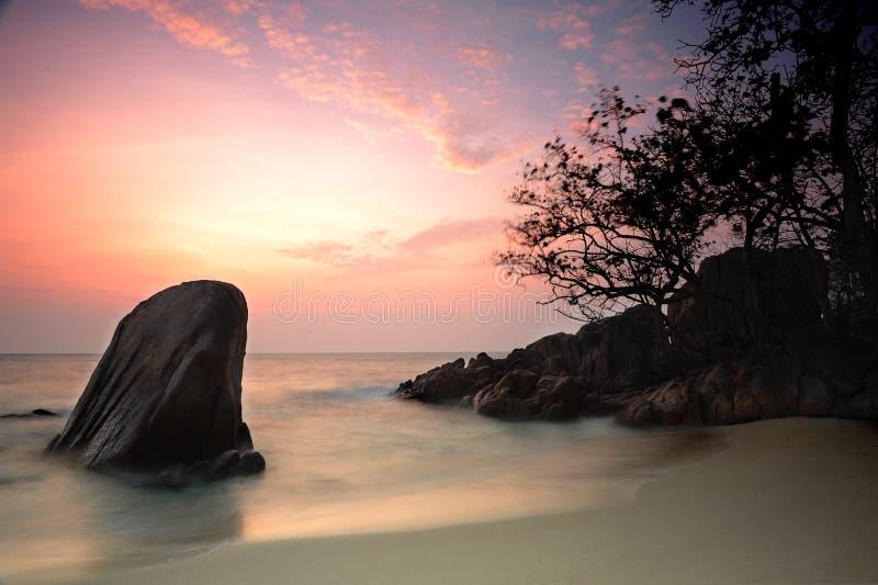 Insel-Paradies lizenzfreie stockfotografie