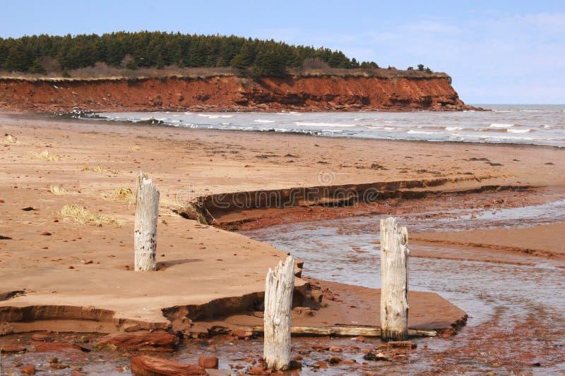 Insel-Strand stockfotografie