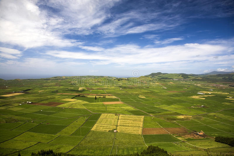 Insel von Azoren - Portugal stockbild