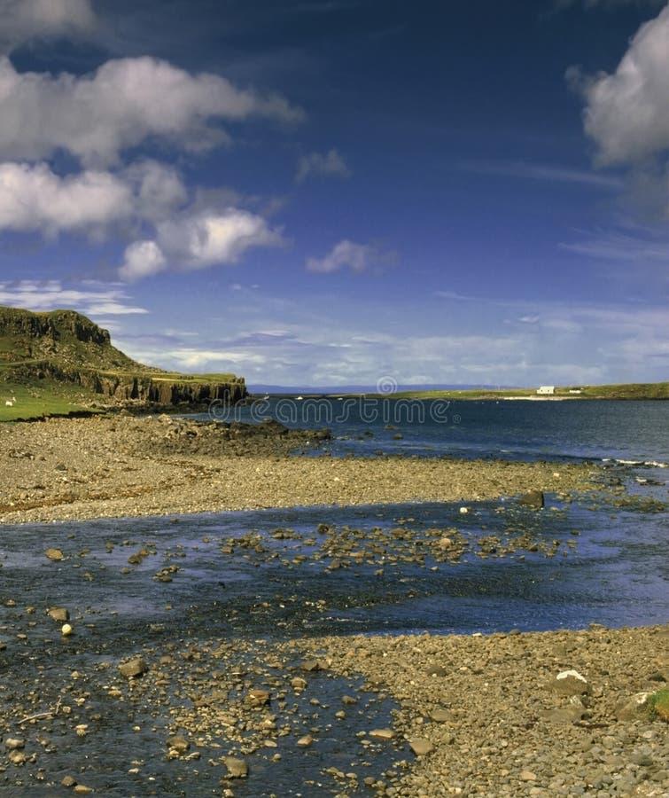 Insel von skye stockfotografie
