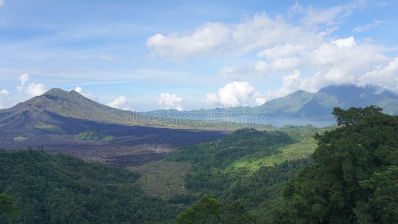 Insel Vulcano Bali lizenzfreies stockbild