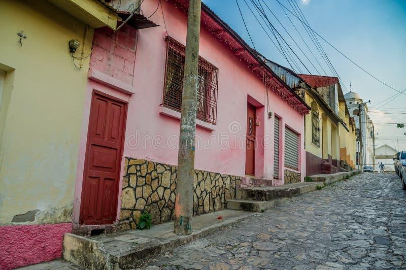 Insel Zentralamerika Isla Des Flores Guatemala stockbilder
