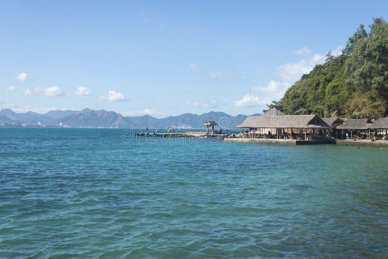 Insellandschaft von südostasiatischem stockfotografie