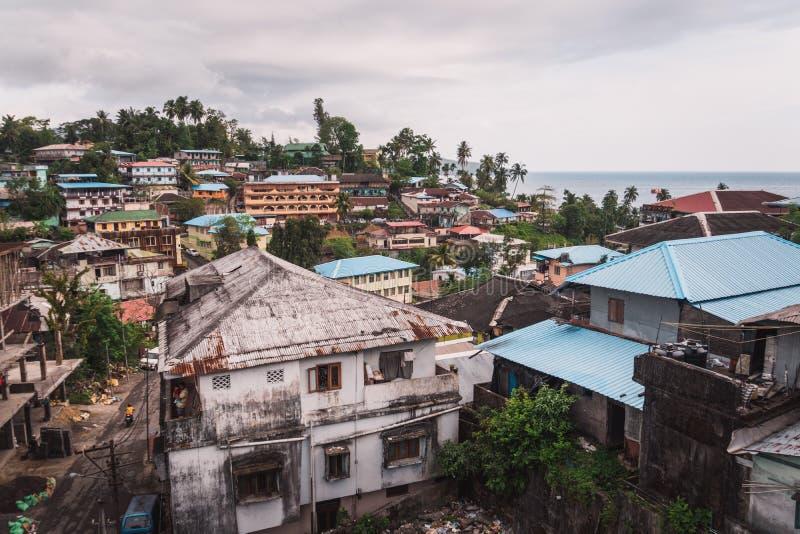 Inseln Port Blair Indiens Andaman stockbild
