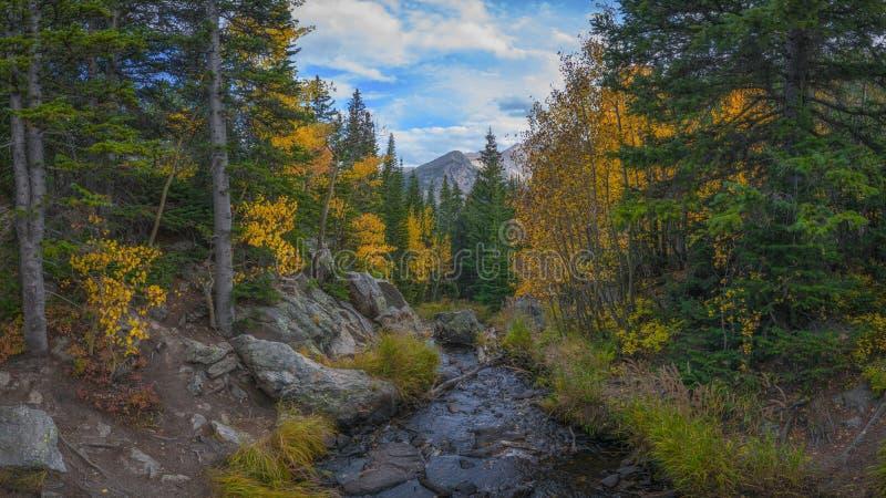 Insenatura di Tyndall in autunno fotografie stock