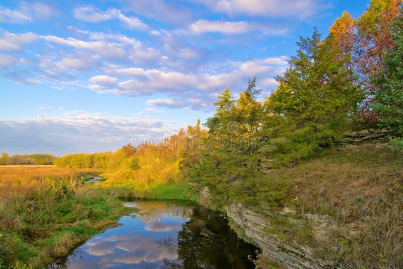 Insenatura, Illinois rurale fotografia stock