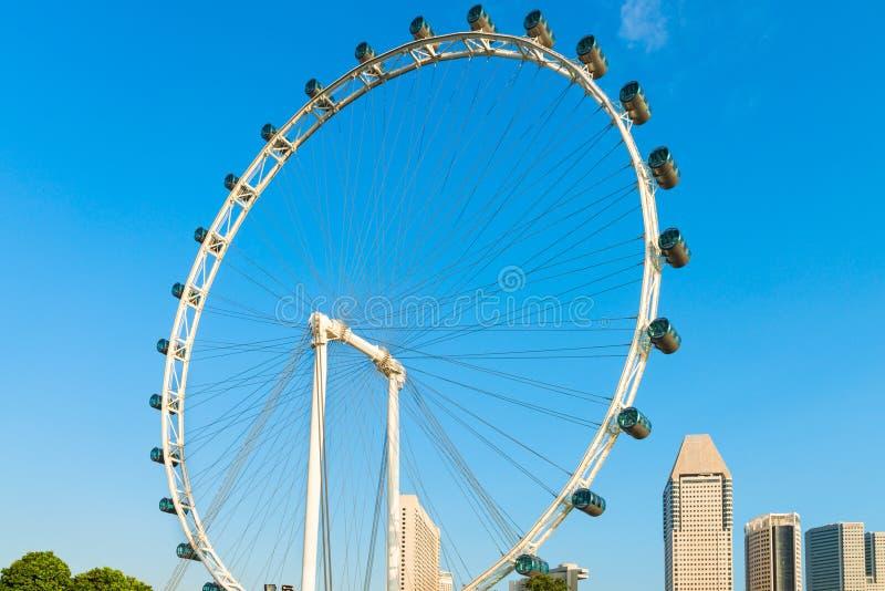 Inseto de Singapura da roda de Ferris do gigante imagem de stock