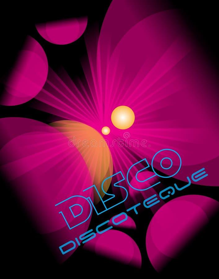 Inseto do clube do disco ilustração royalty free