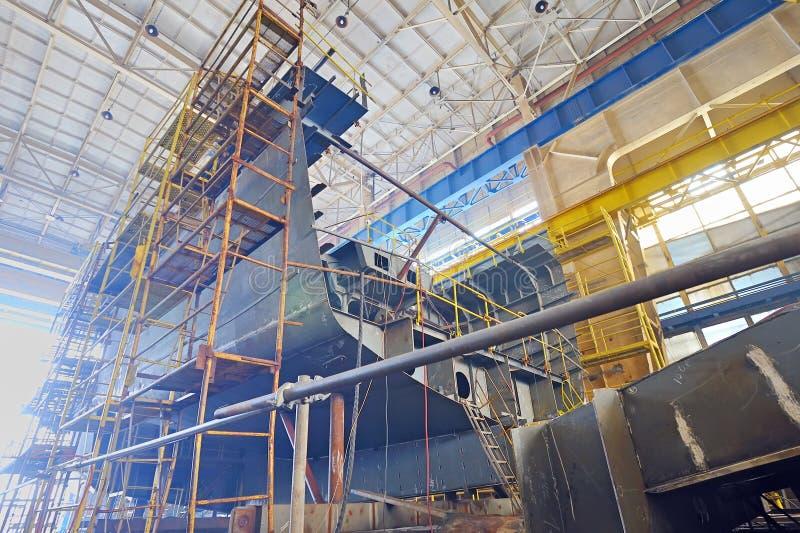 Shipbyggnad arkivbilder