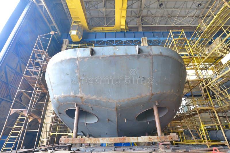 Shipbyggnad fotografering för bildbyråer