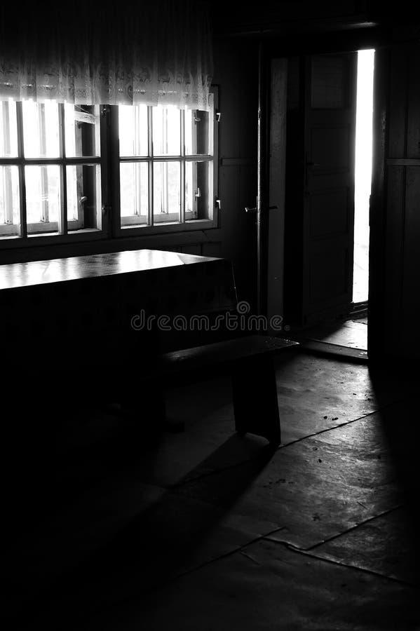 Inside. Of Omu shelter - Bucegi - Romania royalty free stock photography