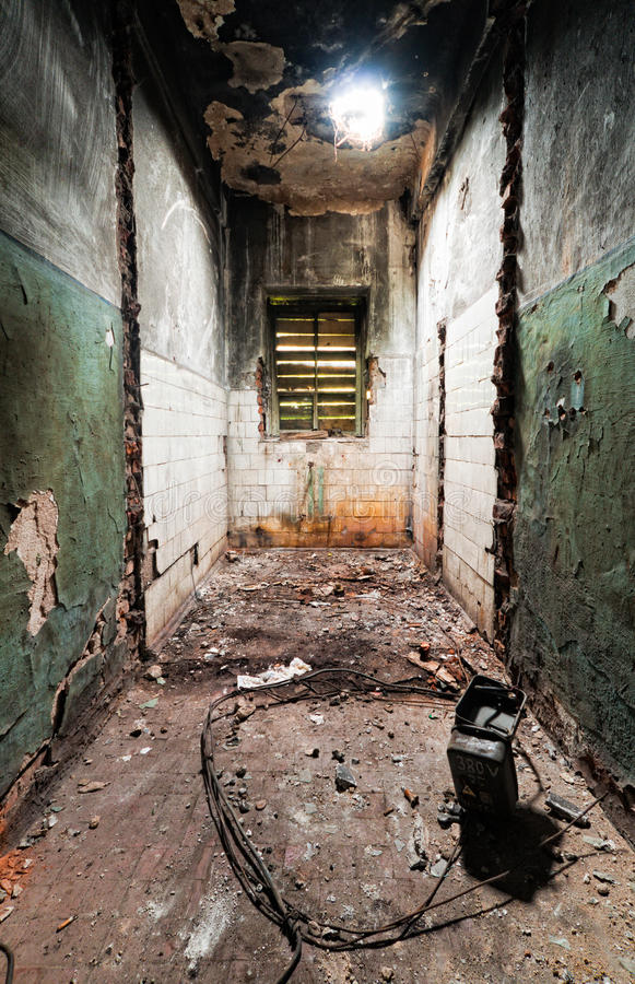 Free Inside An Abandoned Building Stock Photos - 26147873