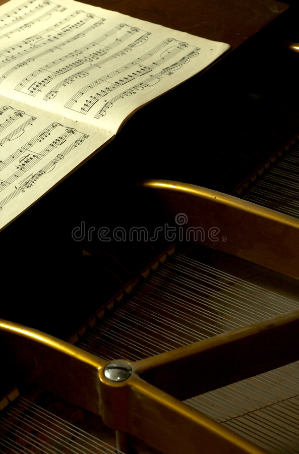 Download Inside A Baby Grand 2 stock photo. Image of classical - 1721922