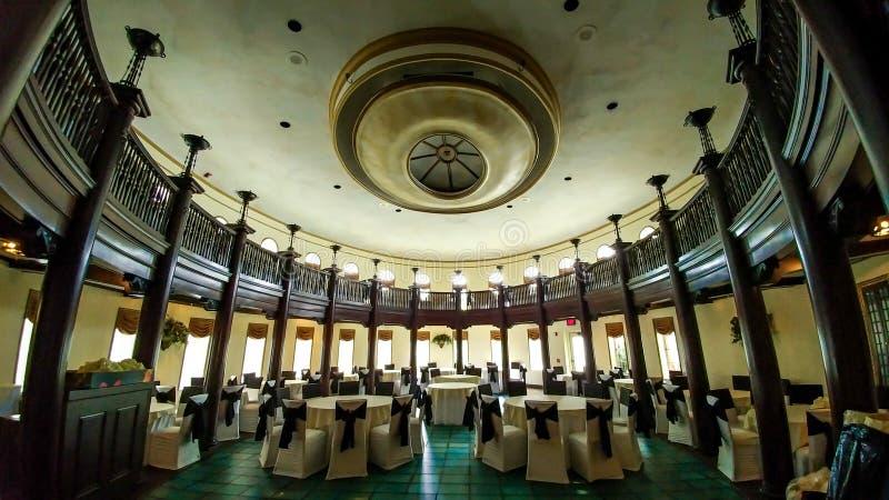 Inside The Rainbow Room - Hotel Baker - St. Charles, IL royalty free stock photos