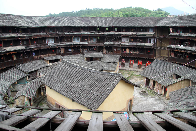 Download Inside Big Tulou Stock Photos - Image: 25044533