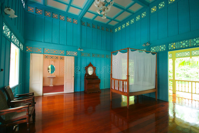 Inside budynek Mrigadayavan pałac obrazy royalty free