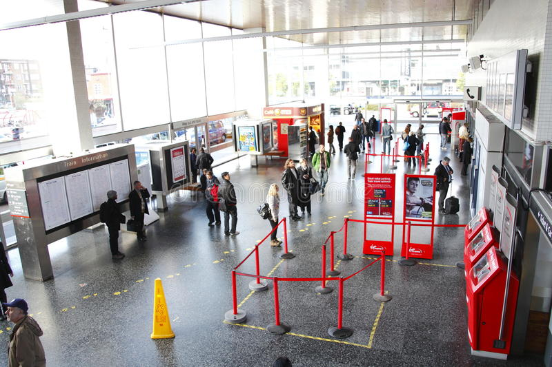 Download Inside Busy Train Station Terminal Editorial Stock Image - Image: 27073874