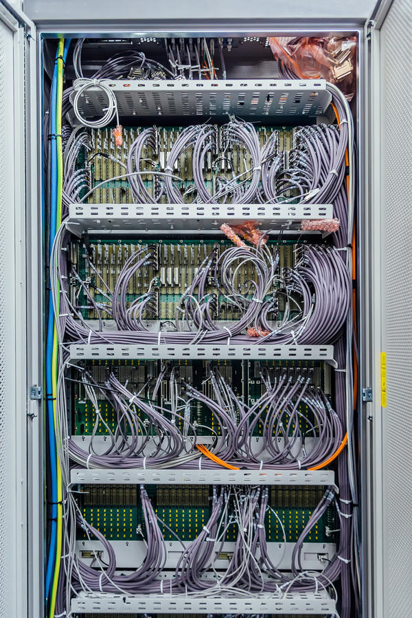 Telecommunication Room Design: Inside The Cabinet With Switchboard And Other