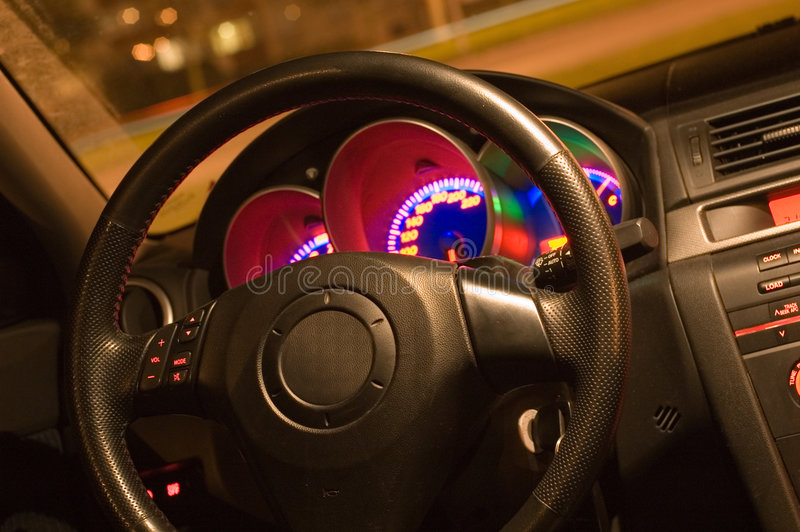 Download Inside Of A Car Royalty Free Stock Photos - Image: 1387658