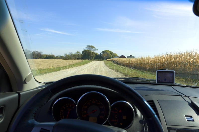 Inside the Car royalty free stock images